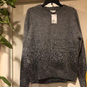 H&M Sweaters - H&M grey glitter festive sweater